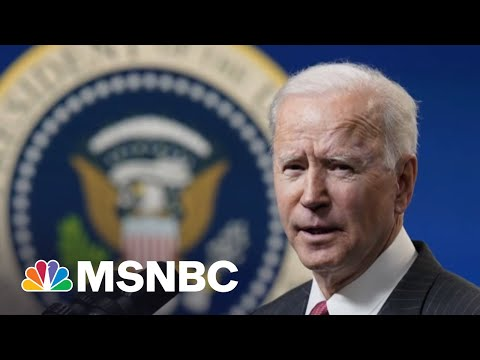 Biden Signs Executive Order For Sanctions Against Russia   Stephanie Ruhle   MSNBC