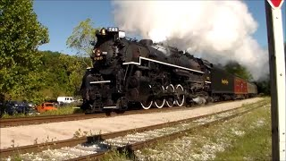 Cuyahoga Valley Scenic Railroad: Steam In The Valley 2014 (Sept 14 2014)