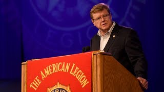 Rep.Amodei addresses the 2017 American Legion National Convention