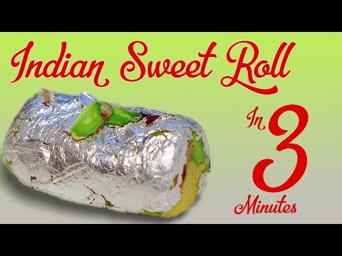 3 Minutes Indian Sweet Roll Recipe In Hindi Quick & Easy Indian Sweets Rakhi Special पाइनएप्प