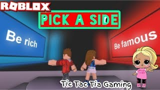 Roblox: Pick A Side Ep.1
