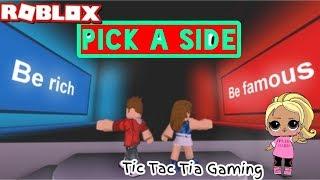 Roblox: Pick A Side Ep.1