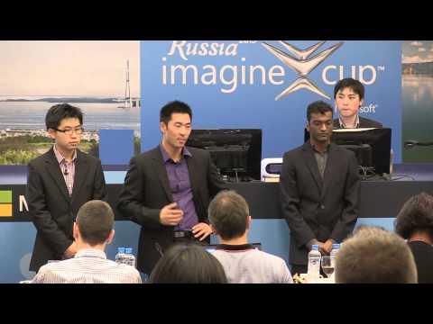 Imagine Cup 2013 Finalist Presentations: Team InfinityTek, New Zealand