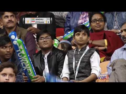 Syed Modi International Badminton C'ships 2017 | SF | Pusarla V. Sindhu vs Fitriani Fitria