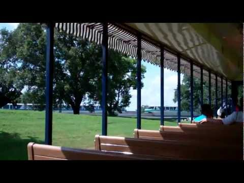 WALT DISNEY WORLD RAILROAD FULL RIDE POV!  MAGIC KINGDOM 2011 HD