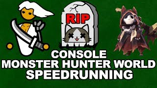 Is Console MHW Speedrunning Doomed? – The Truth About PC Speedrunning