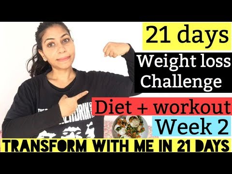 21-days-weight-loss-challenge-|-week-2-|-diet-+-workout-for-weight-loss-|-azra-khan-fitness