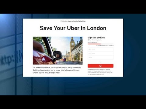 Half a million Londoners sign Uber