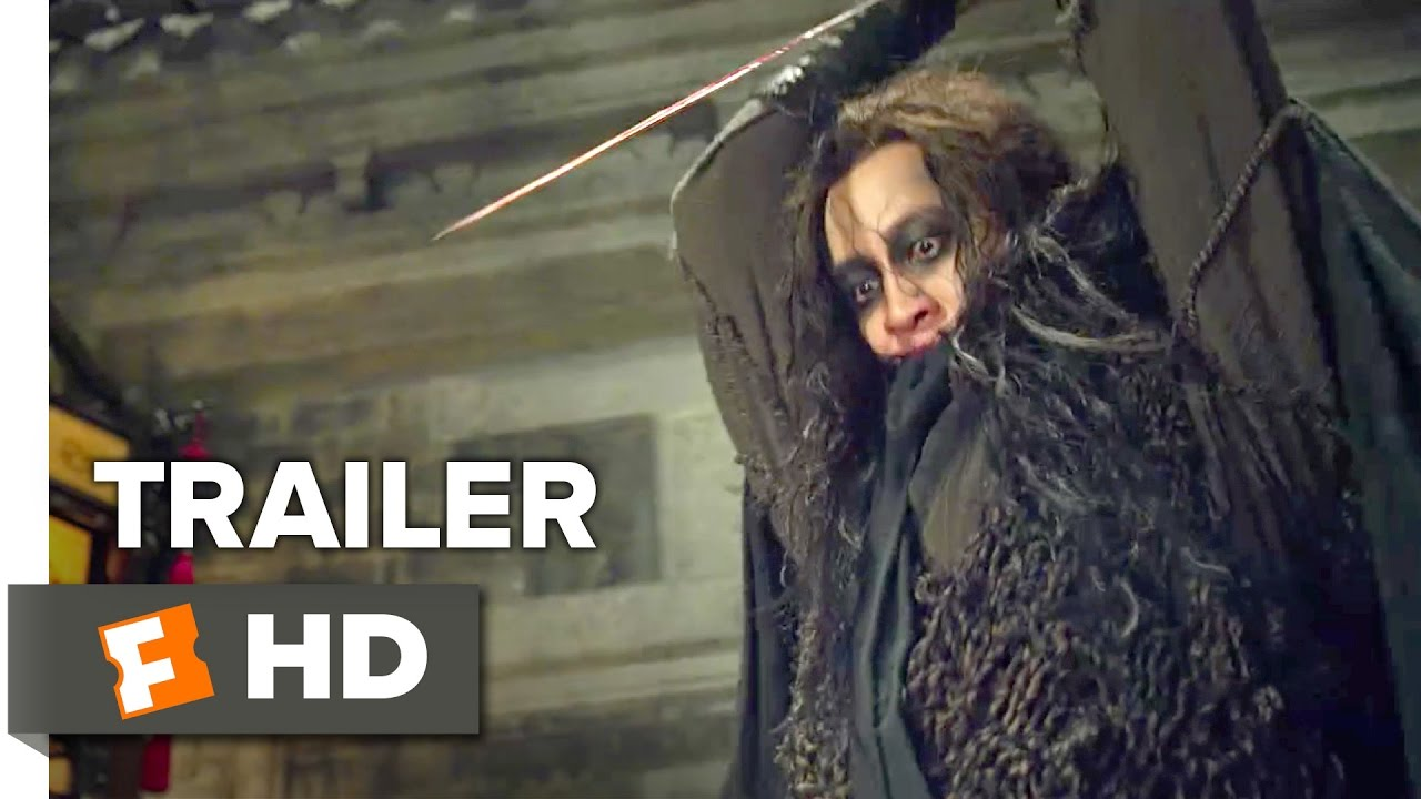 Sword Master Official Trailer 1 (2017) - Peter Ho Movie