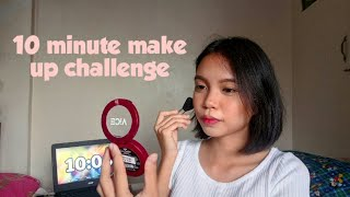 10 MINUTE MAKE UP CHALLENGE | Andrea Soriano