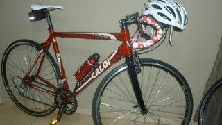 Unboxing Bike Speed - Caloi Sprint 10 - 2013