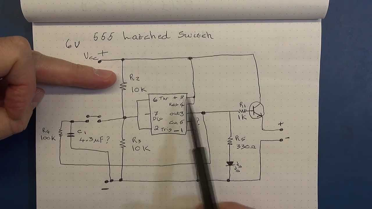 Tutorial 555 Timer Pwm Led Driver And Latched Switch