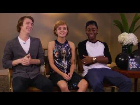 ME AND EARL Interview - Thomas Mann, Olivia Cooke & RJ Cyler