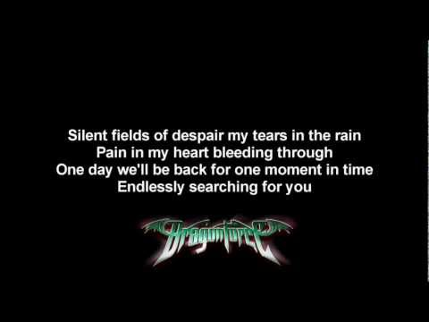 DragonForce - Fields Of Despair | Lyrics on screen | HD