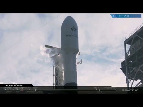 WATCH LIVE: SpaceX to Launch Falcon 9 Rocket #Es'hail 2 @3:46pm EST