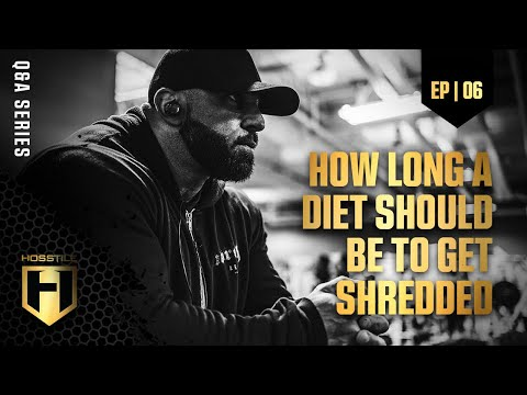 HOSSTILE Q&A EP.6 | How Long A Diet Should Be To Get Shredded
