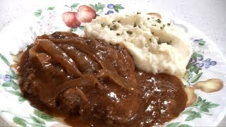 Crock Pot Cube Steak And Gravy Recipe - Amy's Cooking Channel