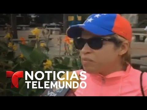 Situación en Valencia, Venezuela, tras sublevación de un grupo militar | Noticiero | Telemundo