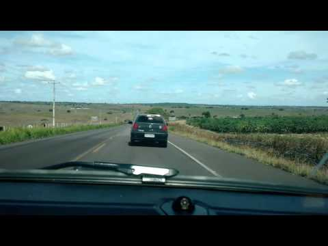 Rolê de carro #4 - Dirigindo na estrada + Interior, roça.