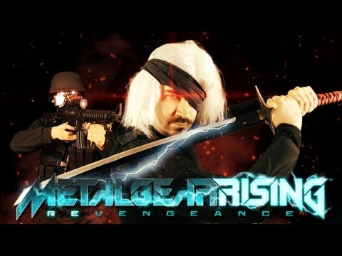 Metal Gear Rising: Angry Review