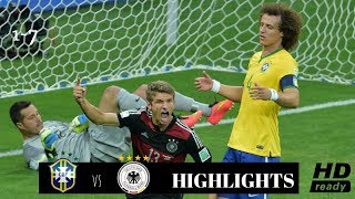 Brazil vs Germany 1-7- All Goals and Highlights THROWBACK- World Cup Brazil Humiliation HD