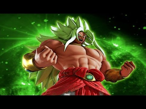 God Broly vs Super Saiyan Blue Goku in DBZ 4D Japanese Movie