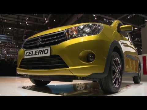 2014 Suzuki Celerio for Europe unveiled at Geneva Motor Show