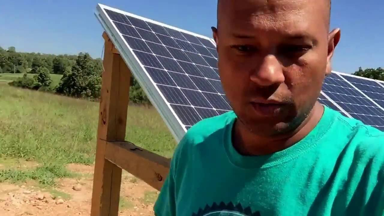 John Changes Solar Panels Wiring From Parallel To Series Increase In And Also Panel Total System Voltage