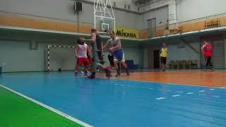Новая Каховка тренировка баскетбол 14.09.2017 (1 часть)