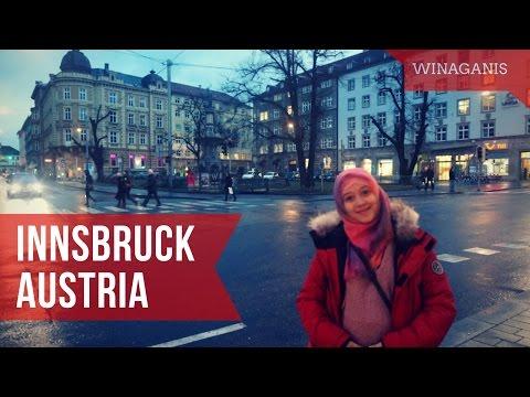 Travel at INNSBRUCK, AUSTRIA   WinaGanis VLOG   English Sub (Nex-5t)