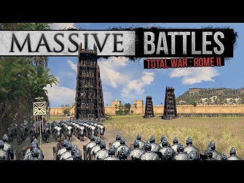 Total War: Rome 2 Empire Divided - Sassanid Siege (Massive Battles)