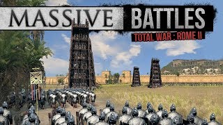 Video Total War: Rome 2 Empire Divided - Sassanid Siege (Massive Battles) download MP3, 3GP, MP4, WEBM, AVI, FLV November 2017