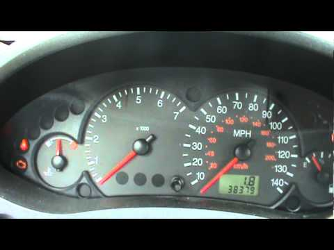 Ford 2 0l Engine Diagram 2005 Ford Focus Dash View Amp Start Youtube