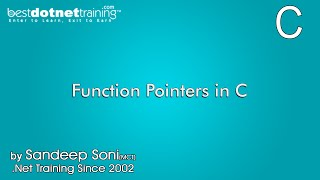Function Pointers in C Programming language