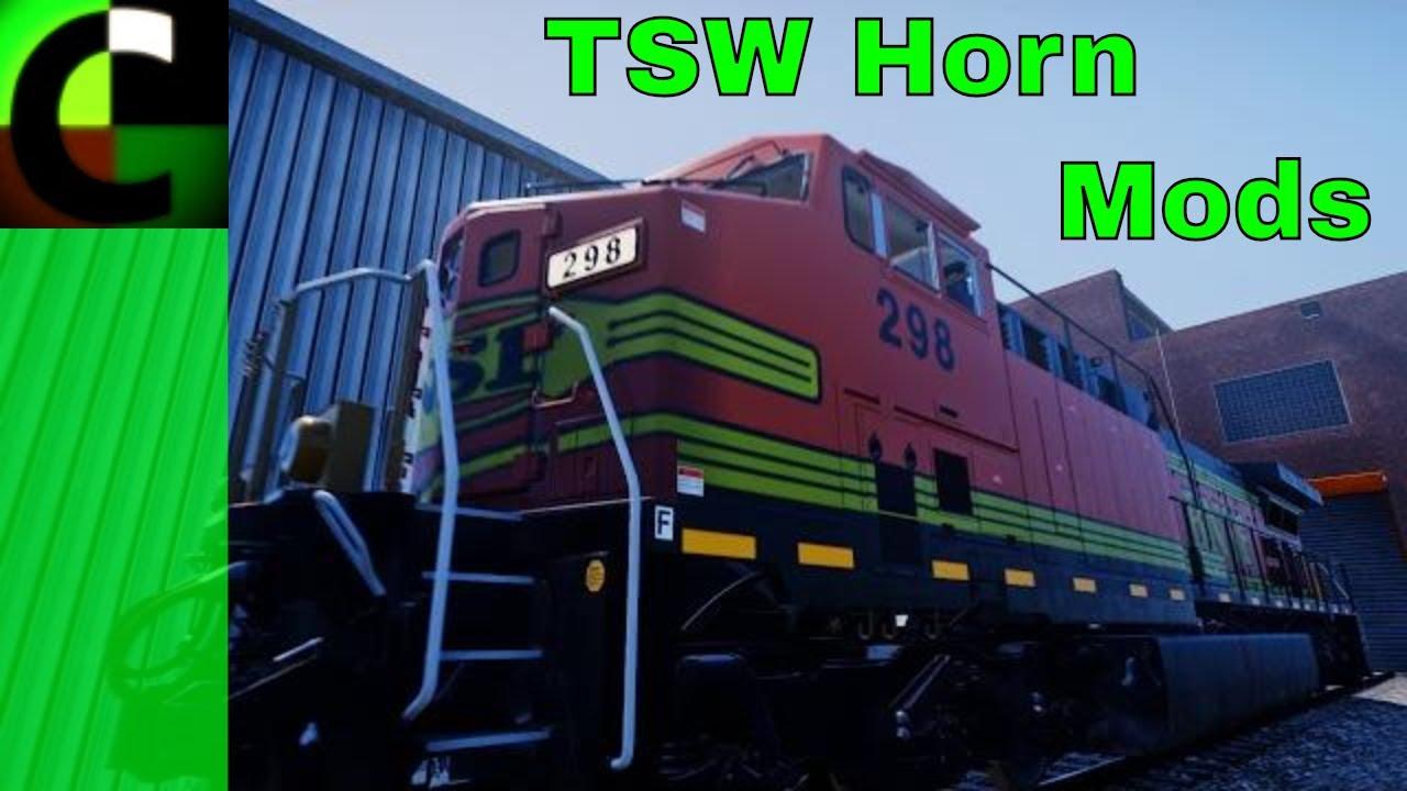 Train Sim World Horn Mod (Updated)