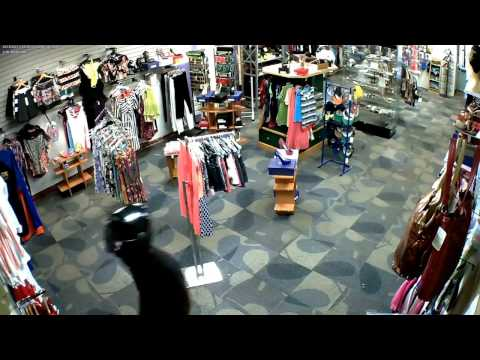 Extended Footage: Armed Robbery CCTV Footage, Sept 2015