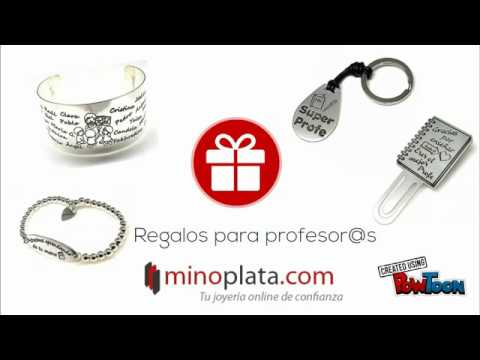 d08f471c Pulseras personalizadas BARATAS de Plata. ¡¡Las mejores ideas para  regalar!! 😉