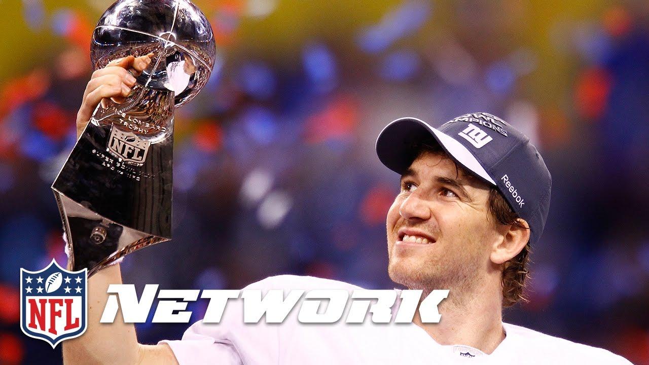 finest selection 0089e 79094 #10 Eli Manning in Super Bowl XLII | NFL Now | Top 10 Super Bowl  Performances