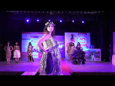 Aim Academy Fashion Show 2016 At Tata Hall Navsari ( Unwearable Garments )