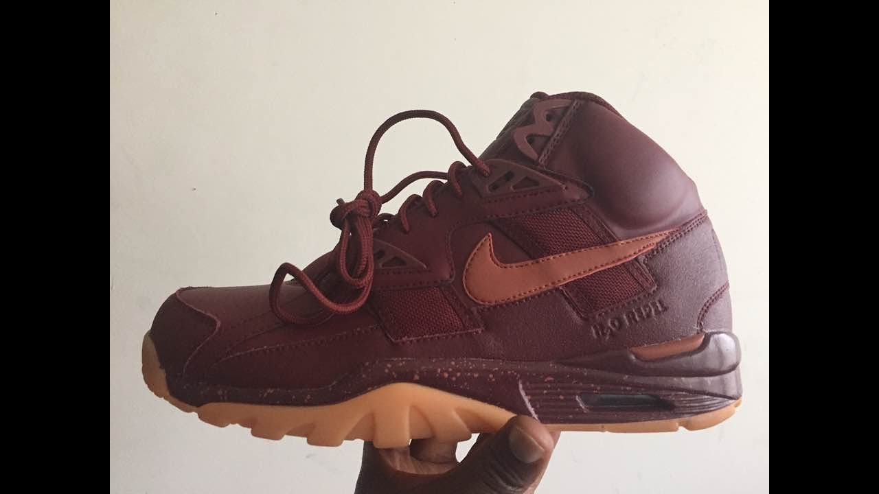 9312a01baff51 Flash Look At The Bo Jackson Nike Air Trainer SC High Winter Edition ...