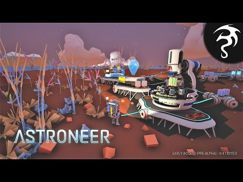 The Excavation Update! Canisters, & Mineral Extractors! - Ep13 - Astroneer Back to Space!