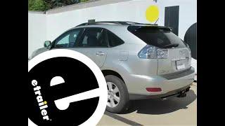 etrailer | Trailer Wiring Harness Installation - 2006 Lexus RX 330 - YouTubeYouTube