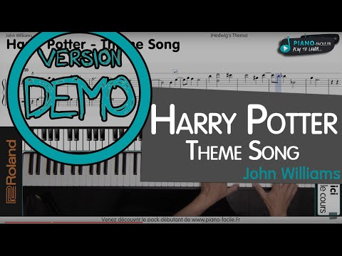 Cover Theme Harry Potter - Piano tuto + partition