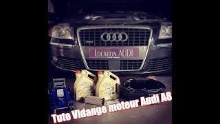 TUTO / Vidange moteur + filtre à huile Audi A8 by 🇫🇷 Le TRANSPORTEUR