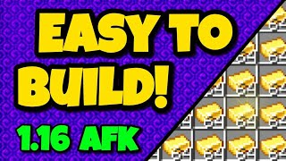 EASY 1.16 GOLD FARM TUTORIAL for Minecraft Bedrock (Xbox/PS4/MCPE/Windows10/Nintendo Switch/Java)