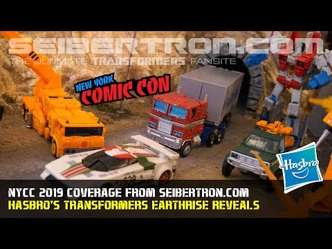 Transformers War for Cybertron Earthrise reveals at #NYCC2019 #NYCC