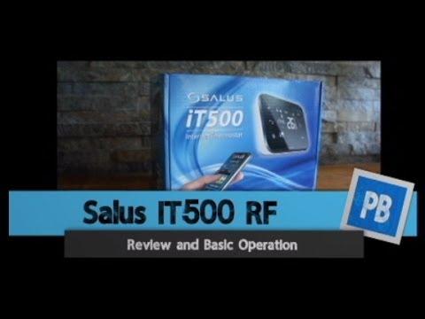 Salus IT500 Internet Thermostat Review & Basics