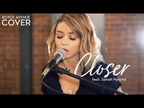 Thumbnail: Closer - The Chainsmokers ft. Halsey (Boyce Avenue ft. Sarah Hyland cover) on Spotify & iTunes