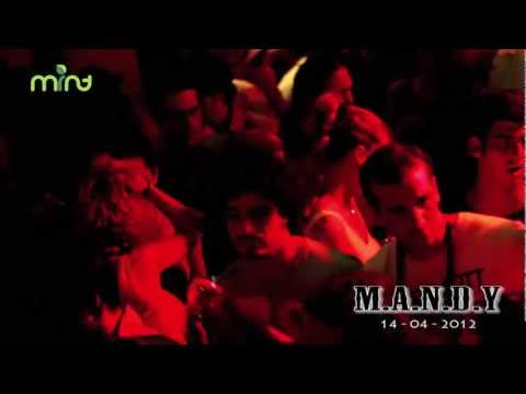 M.A.N.D.Y at Mint Club Bali,  14 April 2012