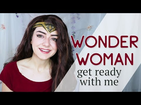 Get Ready With Me — Wonder Woman Cosplay!